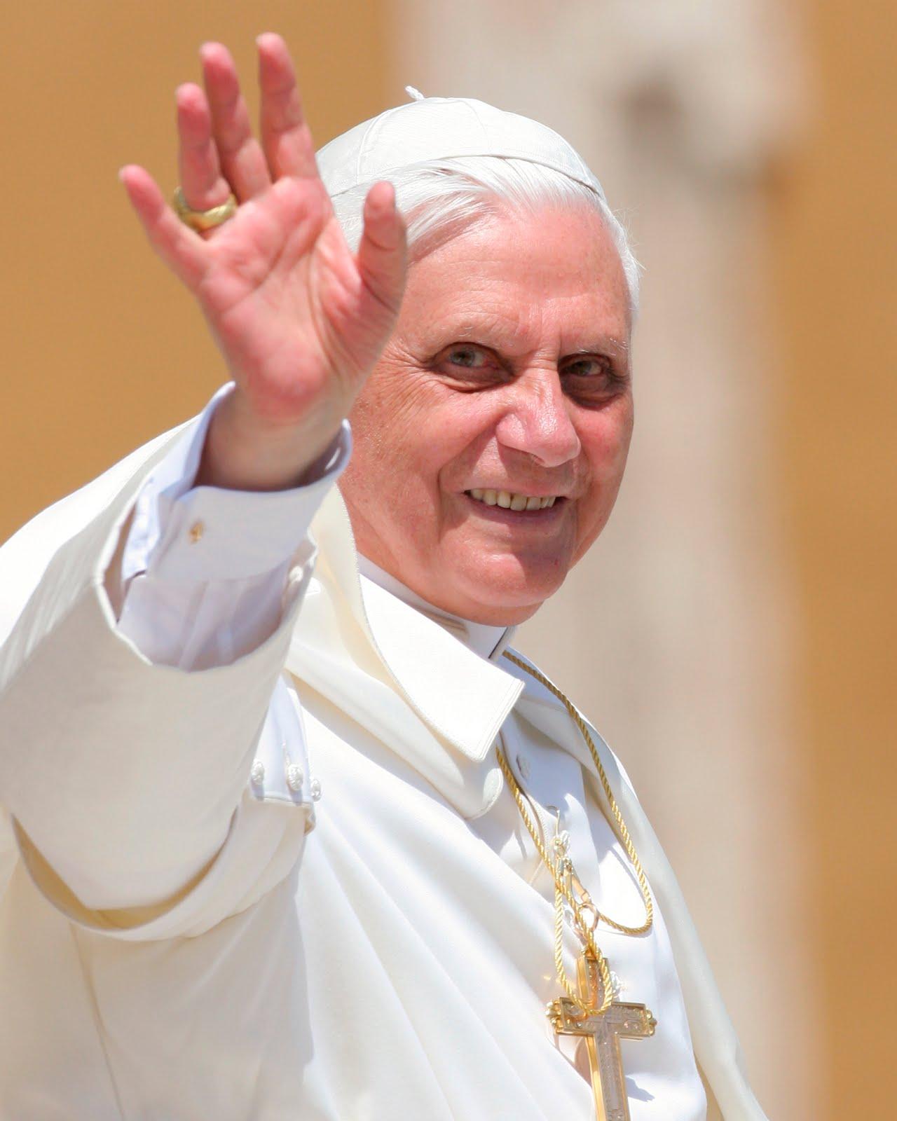 pope benedict height